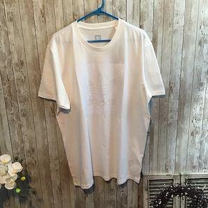 Adidas Originals Trefoil T-shirt White/White